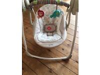 Comfort and Harmony swing chair.