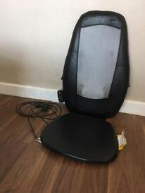 Homemedics shiatsu massage seat