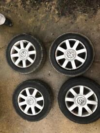 "5x112 16"" Alloy wheels Genuine VW"