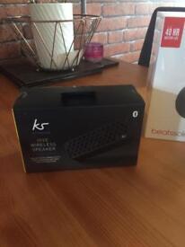 Ks hive speaker + earphones