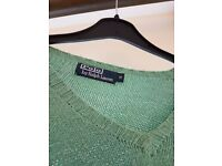 Polo - Green Jumper - Medium