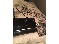 PS3 80GB for sale with some games