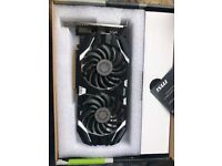 MSI NVIDIA GeForce GTX 1060 6GB 6GT OC V1 Graphics Card