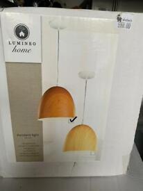 Ceiling Pendant Light - Wooden