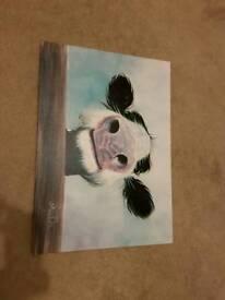 Children's cow picture