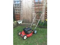 Toro Mulching petrol 46cm lawnmower.. rough cutter