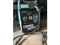 Mig cemig 160 gas/gasless 240v