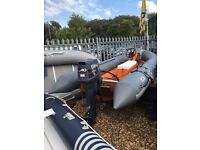 Avon 4m Sea Rider with 40hp Yamaha 2-Stroke For Sale