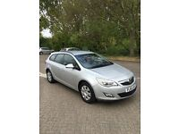 VAUXHALL ASTRA ESTATE 1.7 CDTI ECO FLEX 2011/61 CAN BE USED AS A VAN