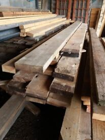 """8"""" x 2"""" timber 10 - 12ft lengths just £10 per length"""