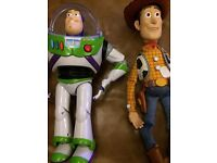 Toy story /buzz and woddy interactive