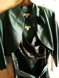 Nightingales cocktail dress and bolero jacket size 20 (18)