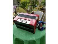 Gallotta 12 bass piano accordion