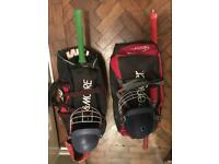 Used cricket equipment youth and adult