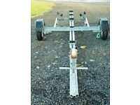 Boat Trailer – Custom built for a 16 ft Orkney Longliner, should be OK for other similar sized boats