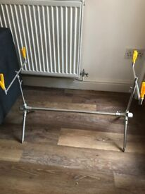 Stainless steel extendable rod pod