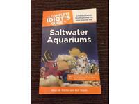 Saltwater aquariums book