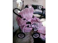 Pink panther limited edition combi pram