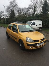 Renault Clio 1.4 good condition
