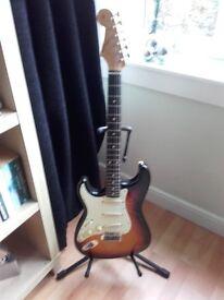 Japanese Left Handed 62 Reissue Fender Stratocaster