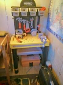 Smoby Black & Decker Tool Bench with Tools