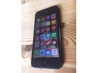 iphone 5 UNLOCKED including wooden case