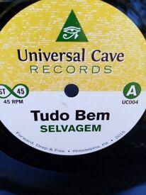 Selvagem – Tudo Bem / Luanda 7 inch single