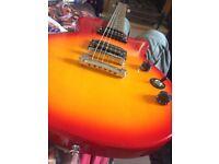 Epiphone Les Paul special II electric guitar, in cherry sunburst