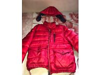 Men's Red Moncler Jacket