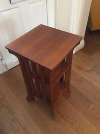 Wooden side unit