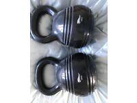X2 kettlebells 10kg each