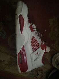 Nearly new Jordan's