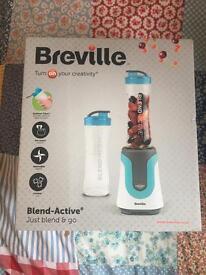 Breville Blend-Active smoothie maker brand new blue