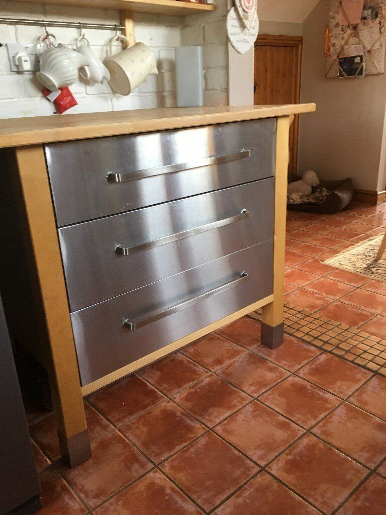 Ikea Varde Freestanding Kitchen Unit In Droitwich