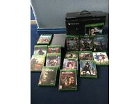 Xbox one 500gb black plus 15 games fantastic condition plus kinect