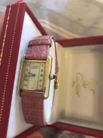 Ladies Vintage Cartier Watch