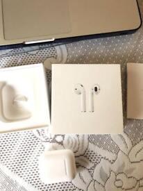 Apple wireless air pods