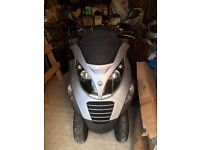 Piaggio MP3 250 2008 great condition just serviced very low miles, new MOT, very lightly used