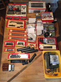 Hornby Train Set ++, Just add a layout board (not included!) Job lot - see list. £680 or best offer