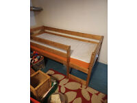 shortie/ transitional children's cot-bed