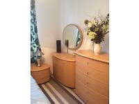 Modern Alba bedroom furniture, excellent condition. £400 ONO