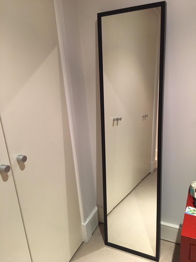 ikea full length mirror Ikea STAVE full length mirror black | in Notting Hill, London  ikea full length mirror