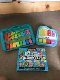 Musical and learning toys