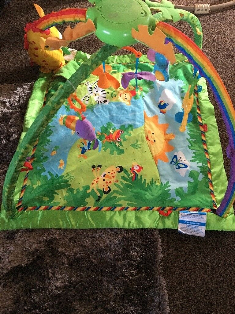 Sit me up car and rainforest playmat for sale