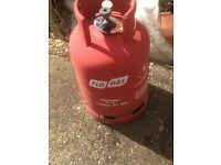 Flo gas bottle propane 11kg - empty