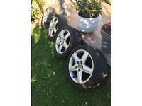 "Alloys wheels audi Volkswagen 17"""