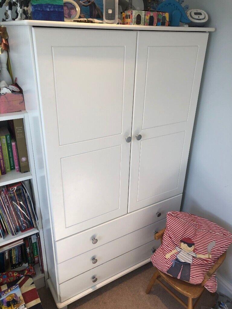 online retailer 80a72 cb67b Kids White Wardrobe | in Twickenham, London | Gumtree