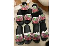 Gucci bloomers sliders