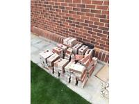 Red Bricks approx 100 qty good condition (1 year old)