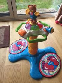 Vtech stand and spin toy